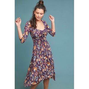 NWT Anthropologie Maeve Beloved Floral Dress